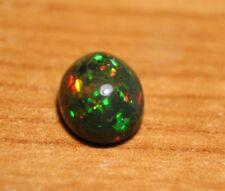 Welo ópalo negro Cabochon 2.8ct - ligeramente agrietado Confeti AAA Opal-ver Video
