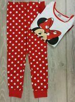 OFFICIAL Disney Minnie Mouse Pyjama Set 5-6 YRS B441-15