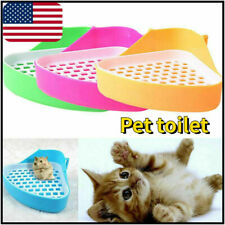 Pet toilet rat small animal tray easy to clean portable triangle G2P9 U4B4