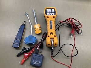 FLUKE NETWORKS TS30 WITH PRO 3000 TONER PLATINUM TOOLS AND MORE....