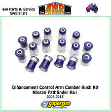 SuperPro Enhancement Control Arm Camber Bush Kit fit Nissan Pathfinder R51 05-13