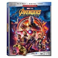 Avengers: Infinity War w/Slipcover (Blu-ray, Digital Copy)