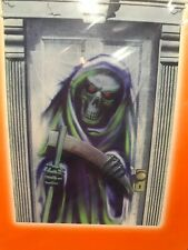 Halloween Spooky Door Cover Grimm Reaper - New