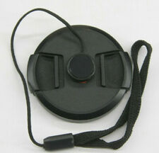 55mm  - Front Snap On Lens Cap - Sony with Leash - USED Z903