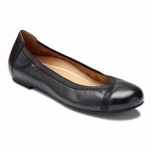 Vionic Spark Caroll - Women's Ballet Flat Black - 7.5 Wide
