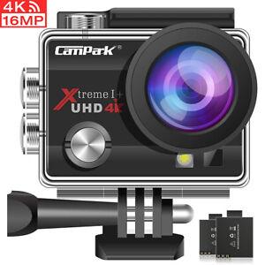 Sport Aktion Kamera Action Cam Camera UHD 4K WiFi Unterwasserkamera für go pro