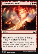 MTG 2x THUNDEROUS WRATH - COLLERA TONANTE - MMA3 - MAGIC