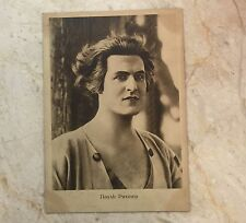 Russia USSR Postcard actor Rihter 1929