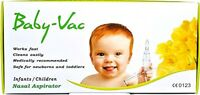 BABY-VAC NASAL ASPIRATOR Medically recommended for Newborn Toddler Children