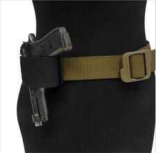 Tactical MOLLE Gun Pistol Holster Waist Bag Holder Adjustable With Magic Hook