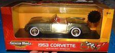 Ertl American Muscle 1953 Corvette Brushed Gold Die Cast Metal Car 1/18 Scale