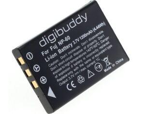 1200mAh Digibuddy Akku für Yaesu FNB-82LI Digital Kamera Batterie Battery Accu