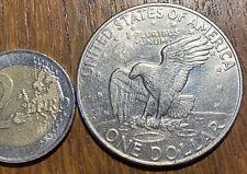 GROSSE PIECE DE 1 DOLLAR EISENHOWER 1972 D (772) AIGLE