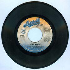 Philippines NEW YORK FANTASY Disco Medley 45 rpm Record