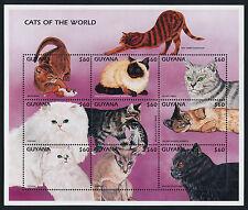 Guyana 3217 MNH Cats