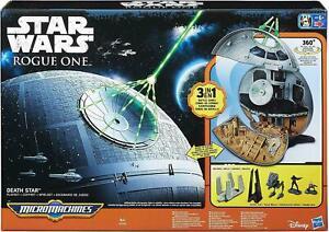 Star Wars Rogue One Micro Machines Death Star Play Set Hasbro - NEW