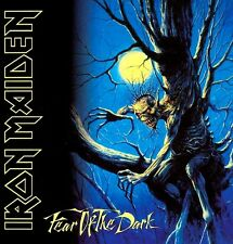Iron Maiden - Fear Of The Dark LP Cover Sticker OR Magnet