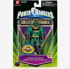 """Power Ranger Super Legends Mystic Force 5"""" Green Heroes New Factory Sealed 2008"""