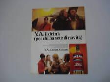 advertising Pubblicità 1970 CINZANO