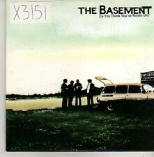(CM426) The Basement, Do You Think You're Movin' On? - 2004 DJ CD