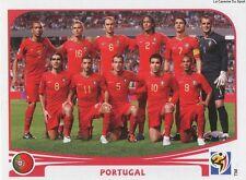 N°543 TEAM SQUADRA # PORTUGAL STICKER PANINI WORLD CUP SOUTH AFRICA 2010