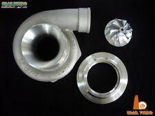 """Snail Turbo 4"""" Compressor Cover AR70 & Billet Wheel Kit for Garrett GT3582"""