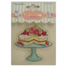CAKE - Clear Stamp - Cupcake Boutique Collection from Dovecraft