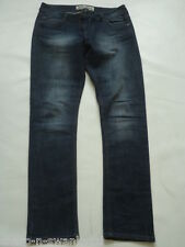 Ladies Indigo Blue Denim Super Skinny Jeans Trousers UK 12 EU 40 W31 L30