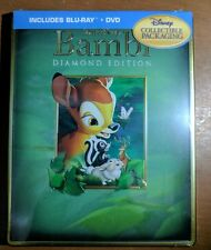 Disney Bambi Diamond Edition Blu-ray Steelbook iron pack DVD NEW  OOP Futureshop