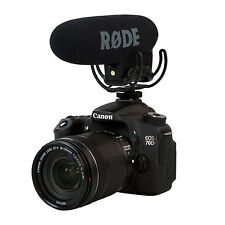 Rode VMPR VideoMic Pro R with Rycote Lyre Shockmount 5D2 5D3 D800 Mic Microphone