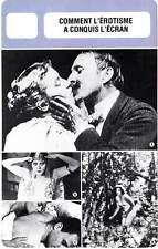 FICHE CINEMA : COMMENT L'EROTISME A CONQUIS L'ECRAN - Theda Bara,Le Baiser