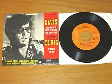 "ELVIS 45 RPM with PICTURE SLEEVE - RCA 47-9916 ""YOU DON'T HAVE TO SAY U LOVE ME"""