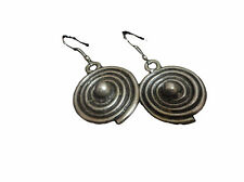 Handcrafted Oriental Spiral Earrings Middle eastern jewelry