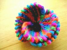Knitted Rainbow Bridge Brooch Pin - Handmade - Unique Gift FREEPOST