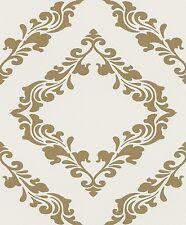 Rasch Tapete Blue Velvet 609547 / Barock Ornament Creme Gold  609547 / 3,56 €/qm