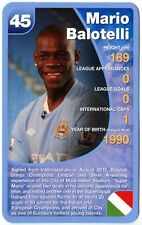 Mario Balotelli - Manchester City Football Club Specials Top Trumps Card (C461)