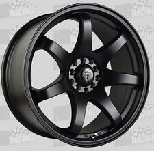HR-  556 18x8.5 wheels 10h 5/100 5/114.3 45p to suit wrx toyota 86 mazda 3 , 6