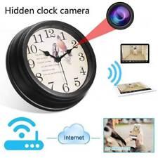 1080P Wireless WIFI IP Full HD Hidden Camera Wall Clock Video Recorder Nanny Cam