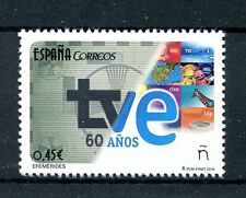 Spain 2016 MNH TVE 60 Years 1v Set Television TV Communication Stamps