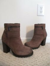 Sam Edelman Fowler Brown Leather Boots Size 9.5