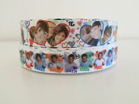 One Direction 1D Grosgrain Ribbon Hair Clips Cake Craft Hair Bow 1 Meter 22/25mm