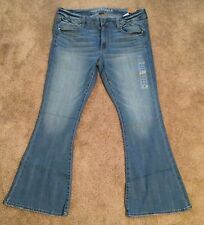 NWT American Eagle AE Boho Artist Jeans, Size 8 Regular, Stretch