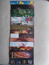2000 Commemorative Presentation Packs Complete - All 13 Packs (PO Nos 307-318)