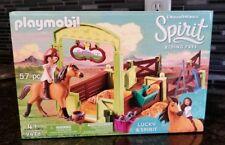 PLAYMOBIL® Spirit Riding Free Lucky & Spirit with Horse Stall Playset DreamWorks