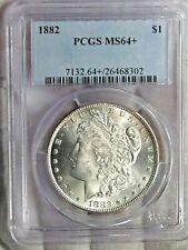 BU 1882 Morgan Dollar PCGS MS64 #71