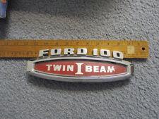 1965 ford pickup hood fender emblem  twin ibeam 1966