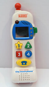 VTech Little Smart Tiny Touch  Phone Baby Toy