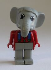Vintage LEGO Fabuland - ELTON ELEPHANT (3601) Red Shirt