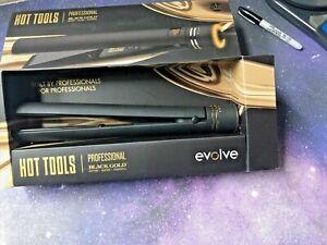 Hot Tools Professional Black Gold Digital Flat Iron, 1 1/4 Inches Master Series!