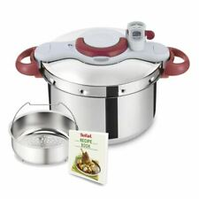 Tefal - Clipso Minut Perfect Stainless Steel Pressure Cooker 9Ltr (Made in Franc